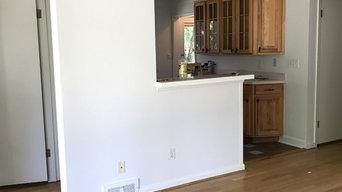 House repainted