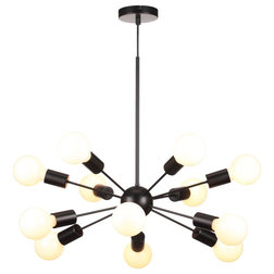 Midcentury Chandeliers by Houzz