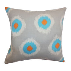 """Paegna Ikat Pillow Chili Peppers 20""""x20"""""""