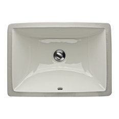 Nantucket Sinks Undermount Ceramic Sink White 18 Bathroom Sinks
