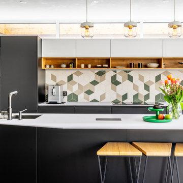 Guillaume & Stévan - Rénovation d'une cuisine dans un style contemporain