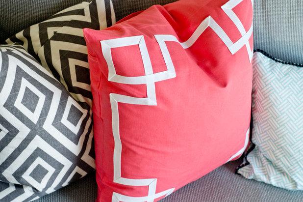DIY Greek Key Pillow Sham