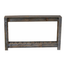 """46"""" Rustic Console, Natural"""