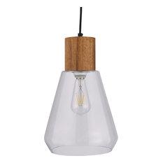 Josianne Glass Pendant Lamp, Natural