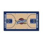 "Cleveland Cavaliers Basketball Court Runner Rug, 24""x44"""