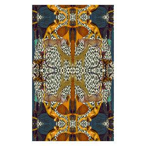 Animal Print Woven Wallpaper