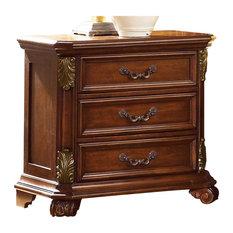 Liberty Furniture Messina Estates 3 Drawer Night Stand 737-BR61