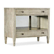 Sanctuary Gemme Two Drawer Nightstand