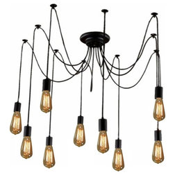 Industrial Chandeliers by Hangout Lighting