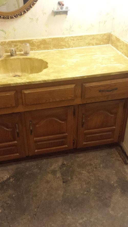 Need Help With Old Custom Bathroom Vanity