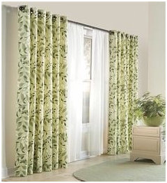 Sheers With Grommet Curtain Panels