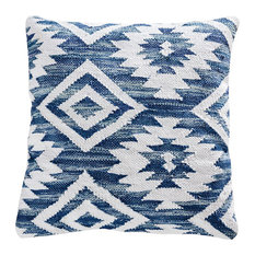 Elk Serranos 20X20 Pillow, Cover Only 906404, Crema, Grey, Turquoise