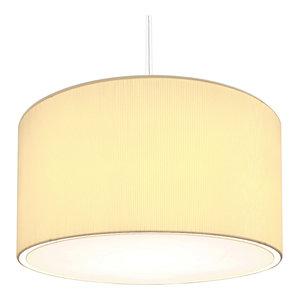 Jumbo Fabric Pendant Light