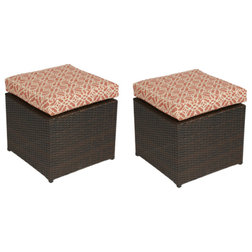 Tropical Outdoor Footstools And Ottomans by Handy Living