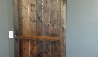 Pantry Barn Door and Casing