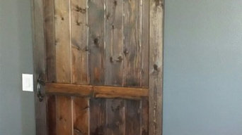 Pantry Barn Door and Casing