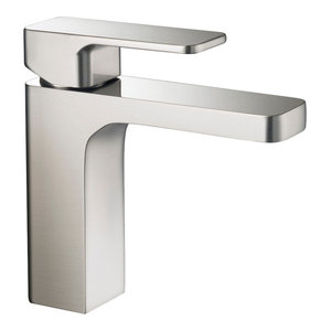 Blossom Single Handle Lavatory Faucet, Brushed Nickel