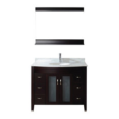 42'' Alba Vanity Set, Chai and Natural Carrera