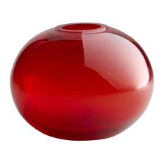 Red Pod Vase, Small