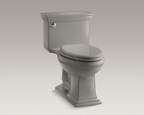 Memoirs(R) Stately Comfort Height(R) one-piece elongated 1.28 gpf toilet with Aq - Toilets