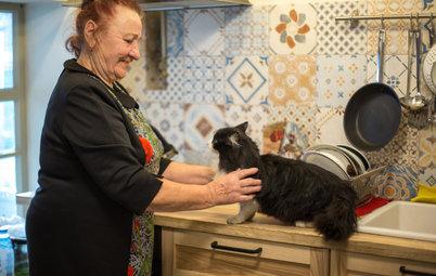 В гостях: Ремонт ветхого дома для женщины в возрасте