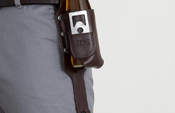 Beer Holster With Bottle Opener