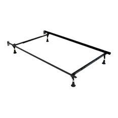 Atlas-Lock Keyhole Glides Bed Frame, Twin/Full