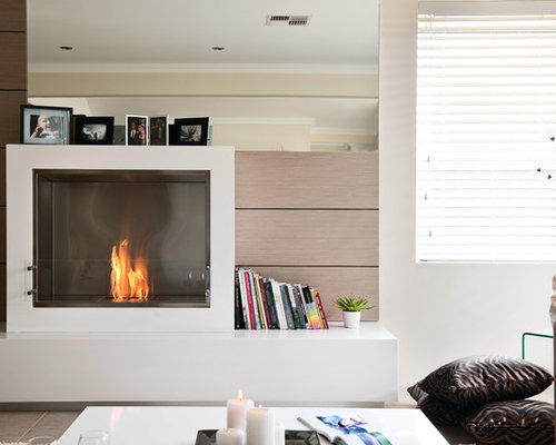 Great Room Eco Friendly Fireplace Projects