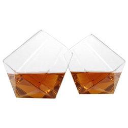 Modern Liquor Glasses by 2Shopper, Inc.
