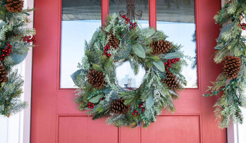 Wreaths, Garlands and Swags With Free Shipping