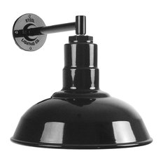The Westchester Industrial Barn Light - Short and Compact, Black