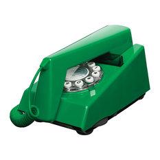 Trim Phone Retro Telephone, Emerald Green
