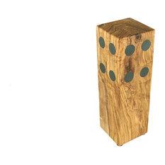 Olive Wood Magnetic Knife Block