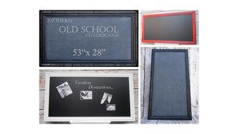 Revived Vintage Modern Chalkboards