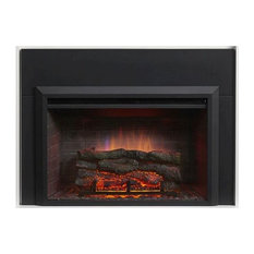 "Outdoor Great Room - 29"" Electric Fireplace Insert - Outdoor Fireplaces"