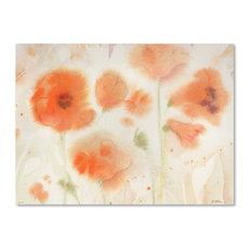 """Sheila Golden 'Orange Tones' Canvas Art, 24""""x32"""""""