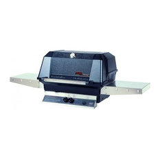 MHP Grills - WNK Grill Head With Stainless Steel Cooking Grids, Liquid Propane - Outdoor Grills