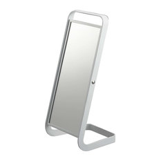 Tower Stand Mirror, White