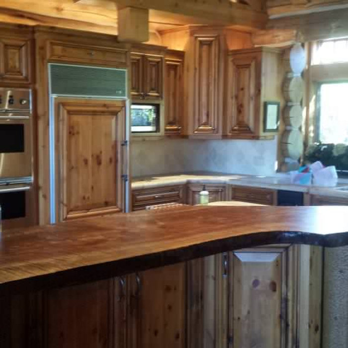 Log Home Remodel, Sunriver