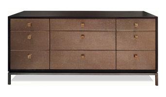 Black & Key Woodrow chest of drawers
