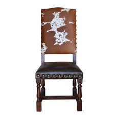 Colton Cowhide Chair, Set of 4