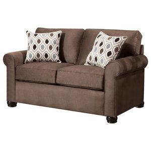 Pleasing Gilmer Sofa Gunmetal 6560338 Transitional Sofas By Pdpeps Interior Chair Design Pdpepsorg