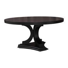 Madison 60-inch RD Dining Table Ebony Oak