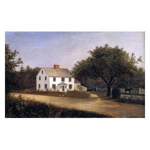 Castine Homestead  by Fitz Hugh Lane   Paper Print Repro