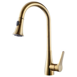 Transitional Kitchen Faucets by Fontana Showers