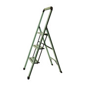 Designer Series Slim 3-Step Ladder, Teal