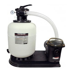 "Hayward Pool Filter System, 16"" Pro-Series Sand W/1 Hp Power-Flo Lx Pump"
