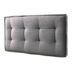 "Eagle Furniture - Tufted Headboard, Faded Gray, Twin: 40""x3.75""x26.5"" - Headboards"