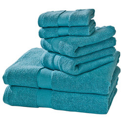 Contemporary Bath Towels by Homestead Textiles Inc.