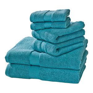 Growers 6-Piece Towel Set, Teal